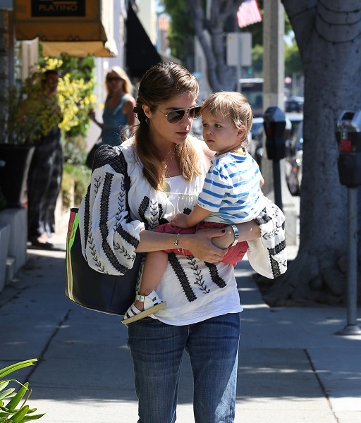 Selma Blair Out With Baby Arthur 6
