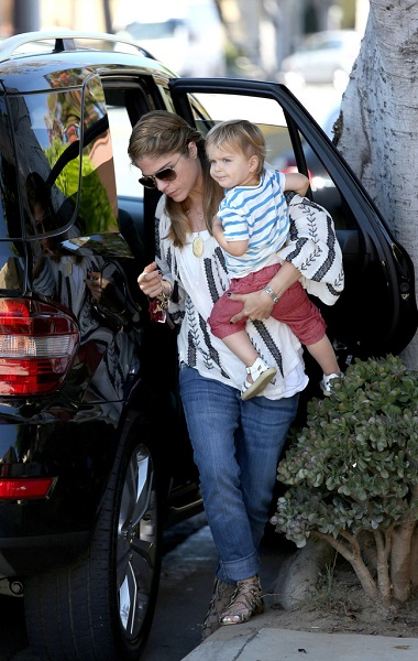 Selma Blair Out With Baby Arthur 8