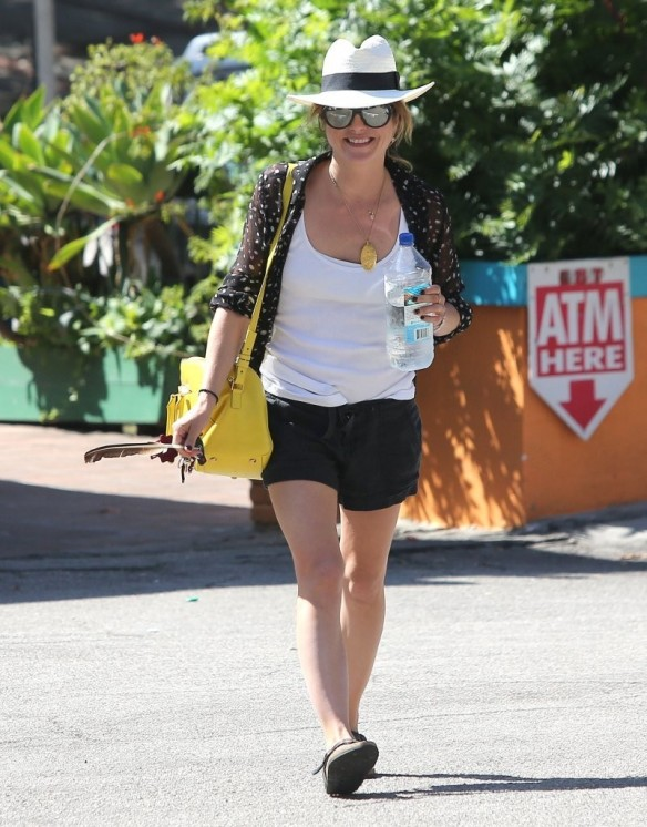 Selma Blair With Feather 6