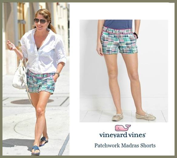 Selma Blair in Vineyard Vines