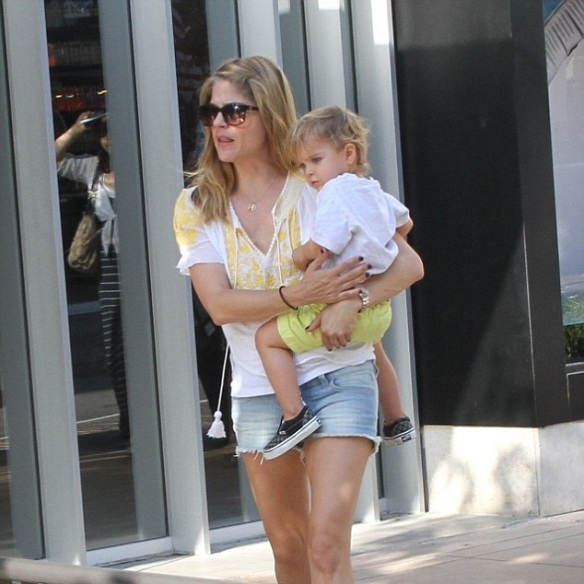 Selma Blair Wearing Greylin Faye Top 1