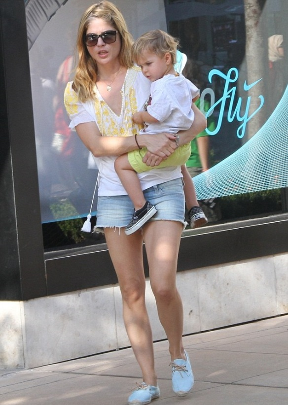 Selma Blair Wearing Greylin Faye Top 3