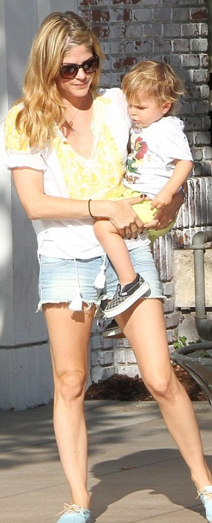 Selma Blair Wearing Greylin Faye Top 4