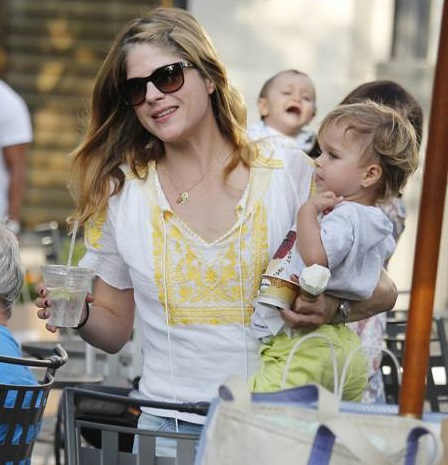 Selma Blair Wearing Greylin Faye Top 6