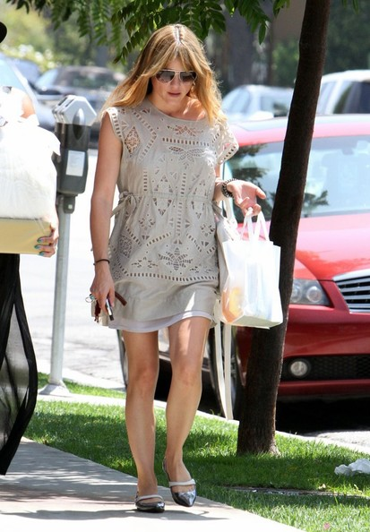 Selma Blair Wearing Greylin Los Angeles August 14 2013 2
