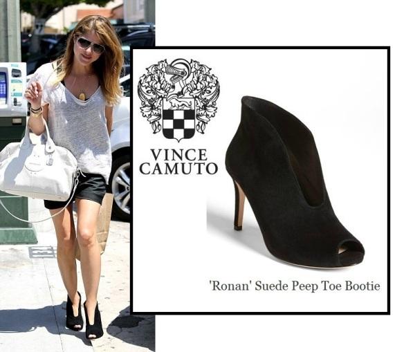 Selma Blair Wearing Vince Camuto Booties 3