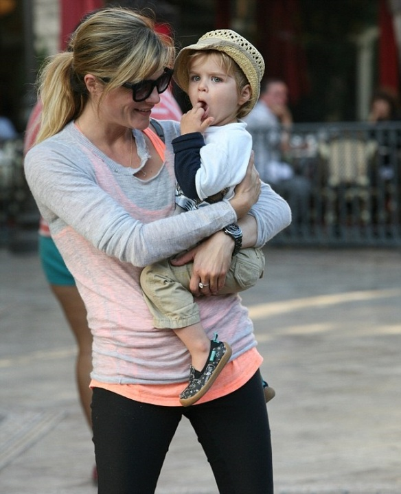 Selma Blair and son Arthur 2