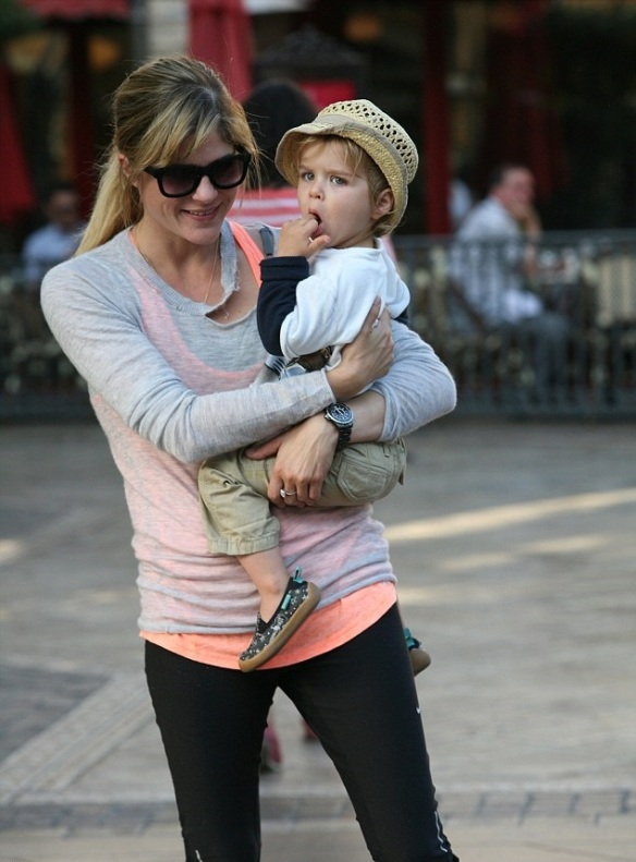 Selma Blair and son Arthur 4