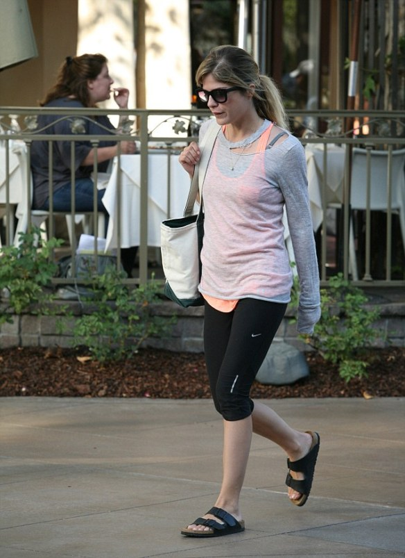 Selma Blair shopping at The Grove in West Hollywood, CA