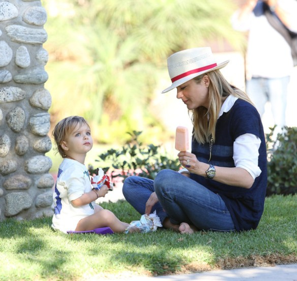 Selma Blair & Arthur Saint Sweet Treats 2