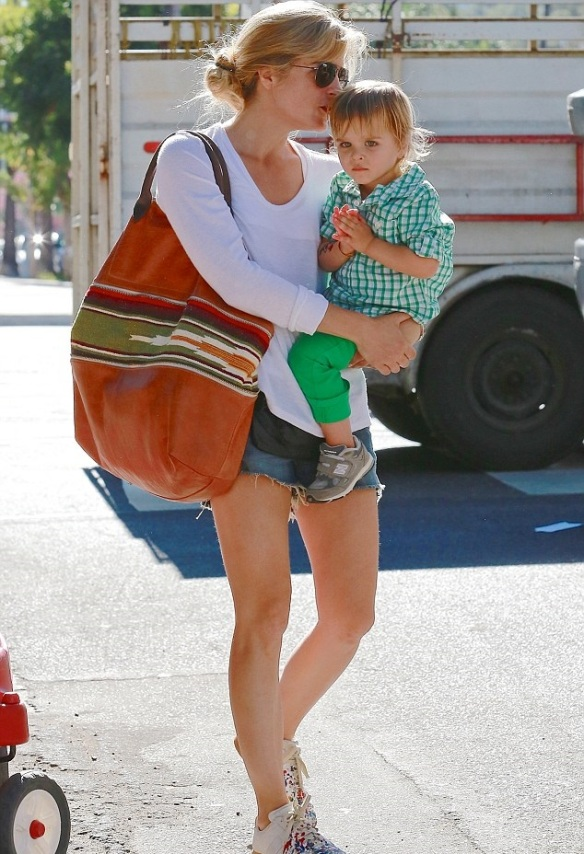 Selma Blair Sunday With Her Saint 35