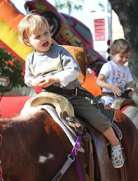 Arthur Saint Bleick Rides The Ponies