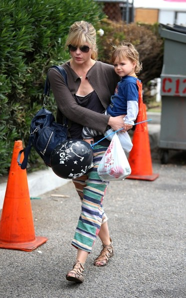 Selma Blair & Her Super Hero 2