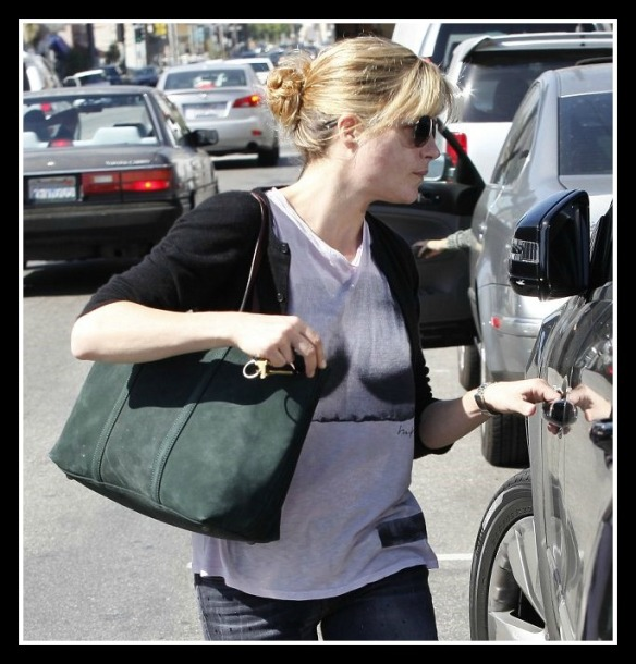 Selma Blair in Kelly Wearstler Bust Tee 5