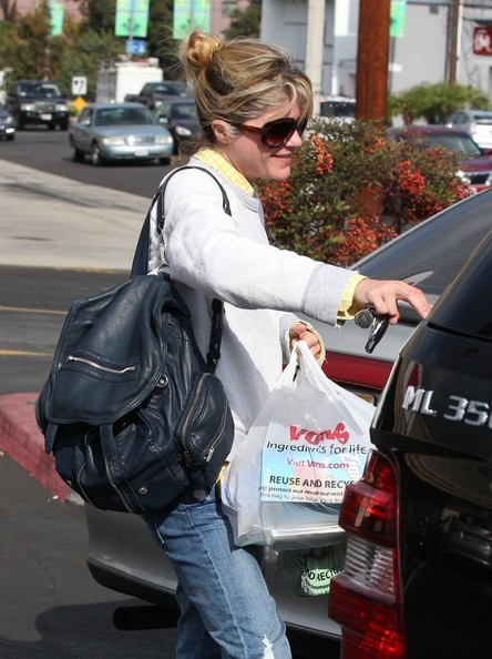 Selma Blair Stops For Supplies