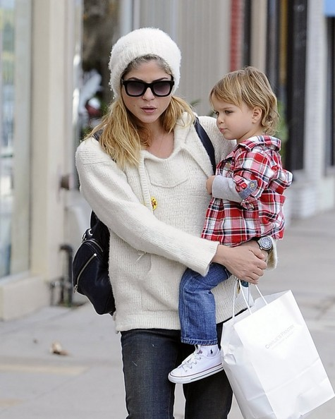 Selma Blair Takes Arthur Saint Shopping