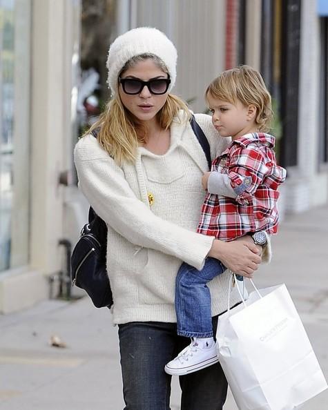 Selma Blair Takes Arthur Saint Shopping