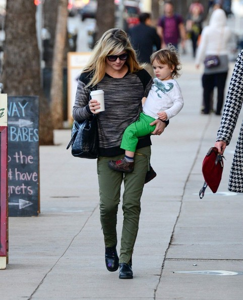 Selma Blair & Arthur Saint Stop For Treats 3
