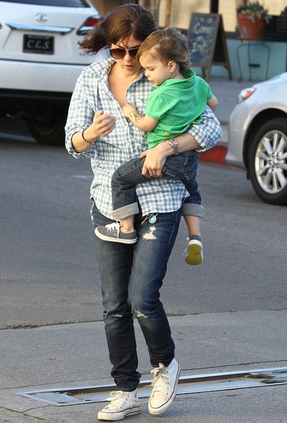 Selma Blair & Her Little Saint 3