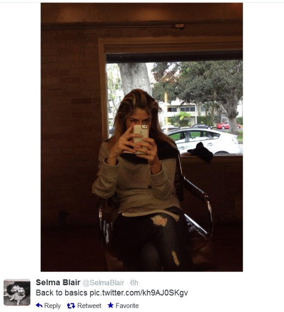 Selma Blair on Twitter @SelmaBlair 1