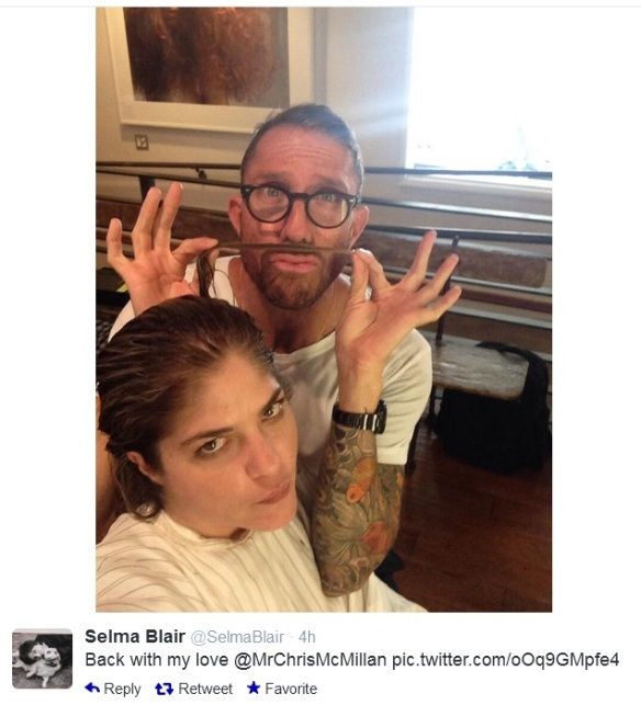 Selma Blair on Twitter @SelmaBlair 2