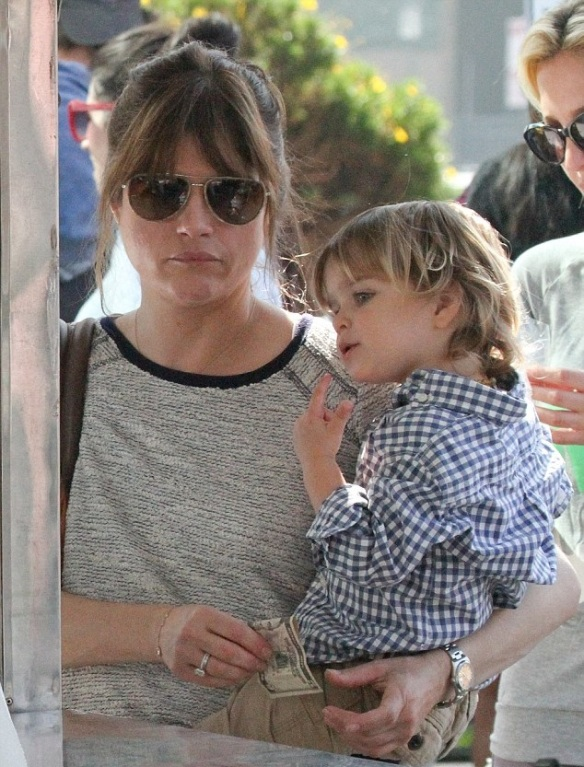 Selma Blair Steps Out In Three Dots Top 3