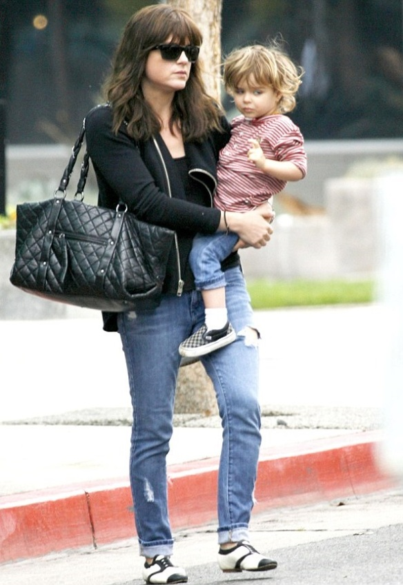 Selma Blair Wearing Kickass WILT Jacket 1