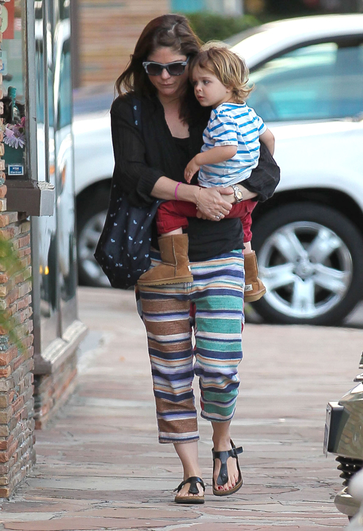 Selma Blair Takes Her Son Arthur To A Doctors Appointment
