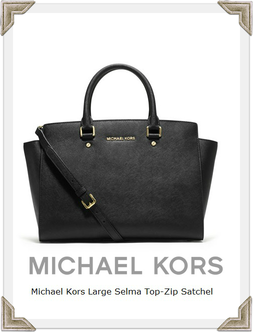 Michael Kors Selma Top-Zip Satchel