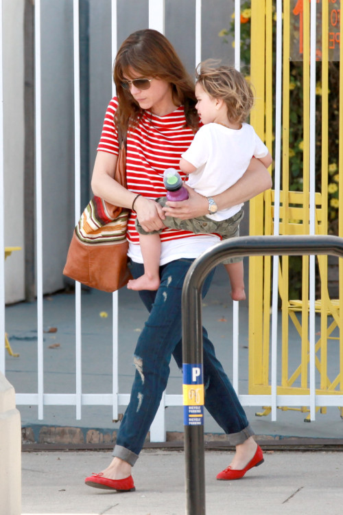 Selma Blair and Arthur are Playdate Buddies