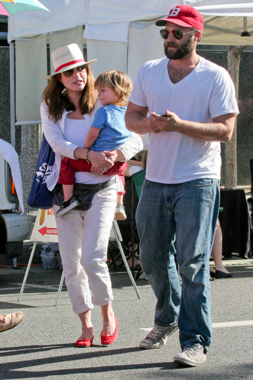 Selma Blair and Arthur are an Inseparable Pair