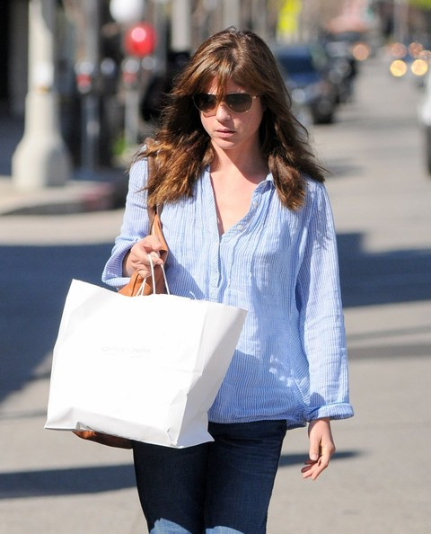 Selma Blair Stops At Charlie's Pantry For Lunch 1