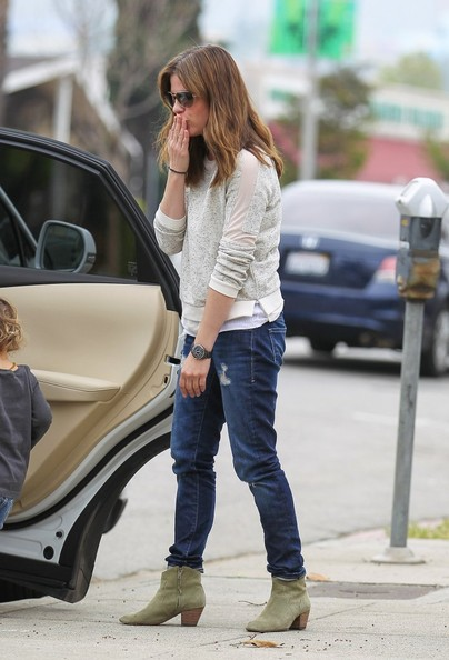 Selma Blair Takes Arthur Saint On A Playdate 2