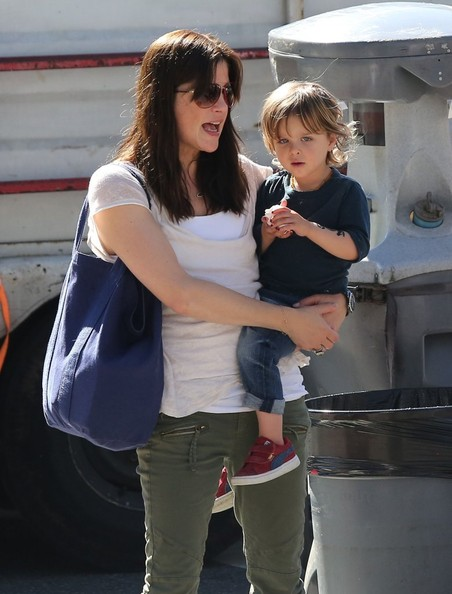 Selma Blair & Son Saint Get Matching Tattoos 1