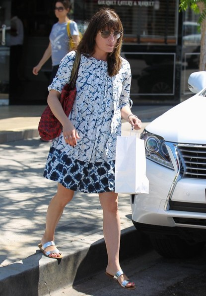 Selma Blair Meets With Friends For Lunch 1