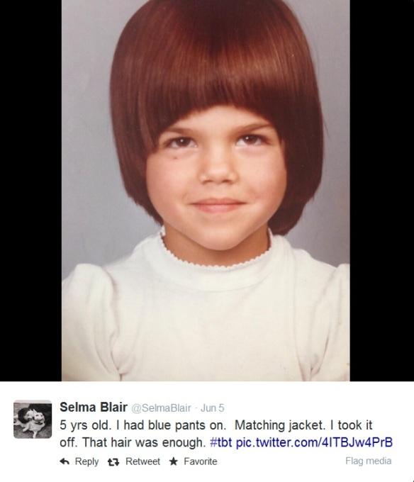 Selma Blair ThrowBackThursday
