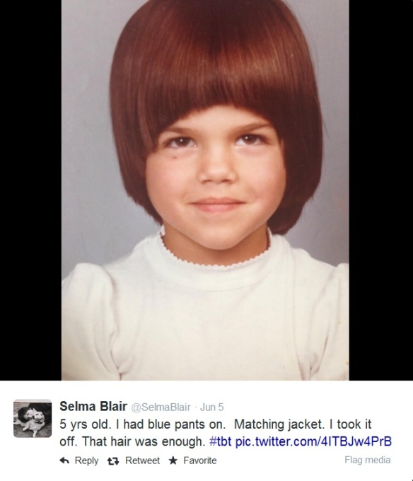 Selma Blair ThrowBackThursday