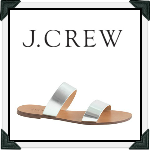 J.Crew sandals as seen on Selma Blair July 15, 2014
