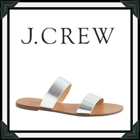 J.Crew sandals as seen on Selma Blair July 15, 2014