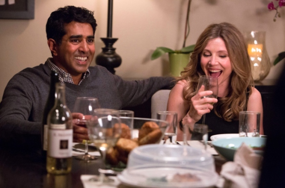 Jay Chandrasekhar and Sarah Chalke in Really1.jpg