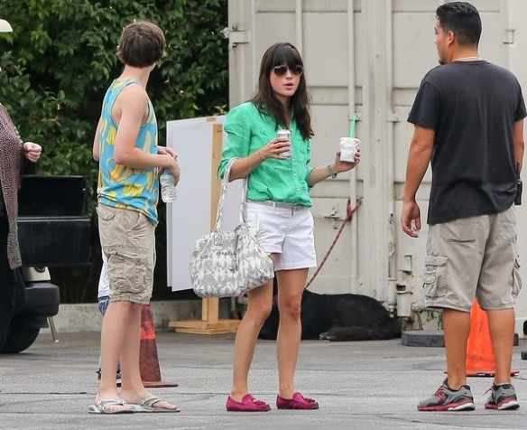 Selma Blair Spends The Day With Family At The Farmers Market 5