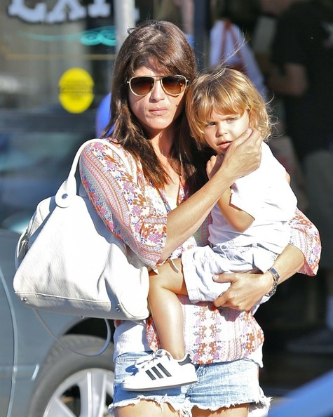 Selma Blair Takes Son Arthur Shopping 1