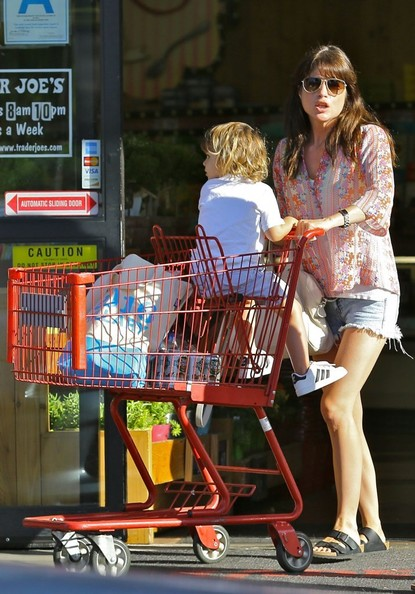 Selma Blair Takes Son Arthur Shopping 3