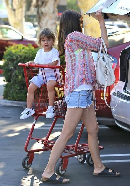 Selma Blair Takes Son Arthur Shopping 4