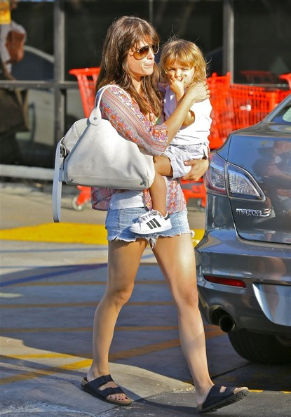 Selma Blair Takes Son Arthur Shopping 5