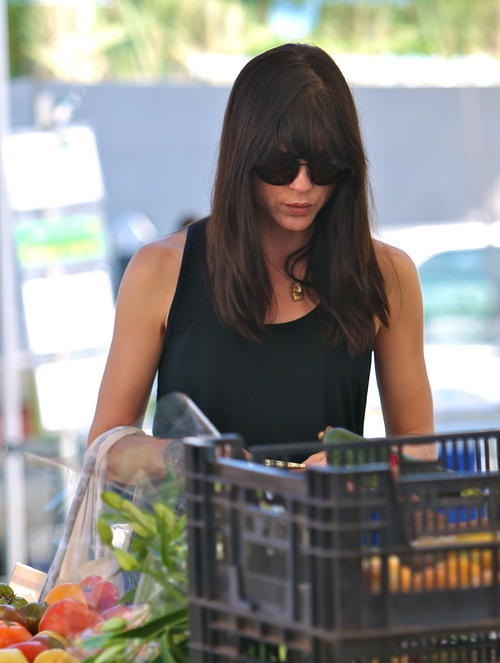 Selma Blair Farmers Market Flowers 6