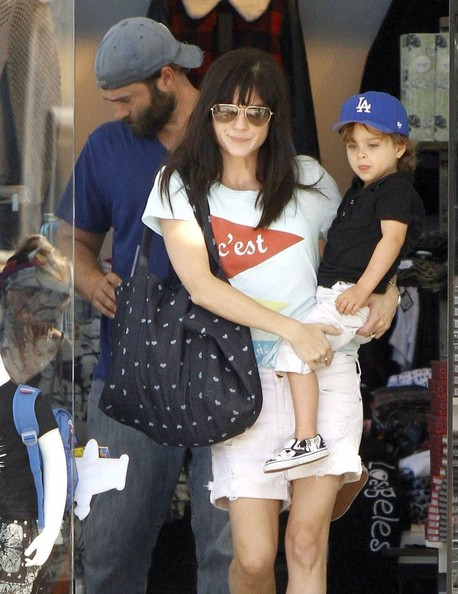 Selma Blair Shopping With Arthur In West Hollywood 1
