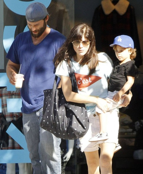 Selma Blair Shopping With Arthur In West Hollywood 4