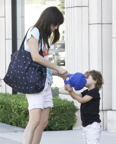 Selma Blair Shopping With Arthur In West Hollywood 6