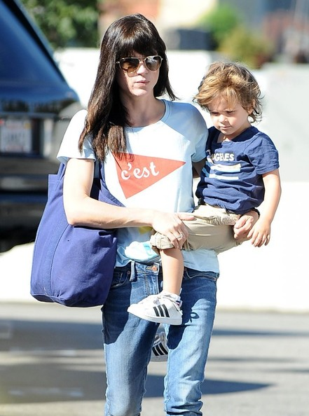 Selma Blair & Arthur Saint Arrive At Farmers Market 1